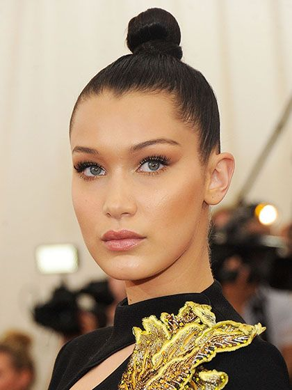 """NEW YORK, NY - MAY 04: Bella Hadid arrives at """"China: Through The Looking Glass"""" Costume Institute Benefit Gala at the Metropolitan Museum of Art on May 4, 2015 in New York City. (Photo by Rabbani and Solimene Photography/Getty Images)"""